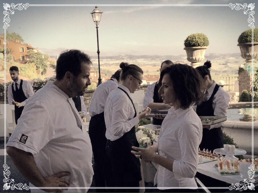 catering il Melograno Chef Aimonetto