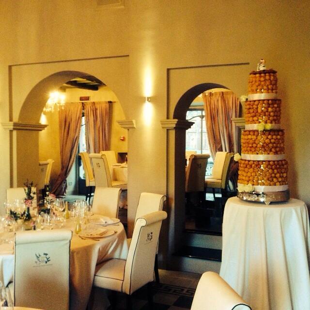 sala grifoni e cake