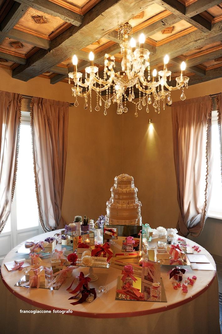 tavolo matrimonio esposizione