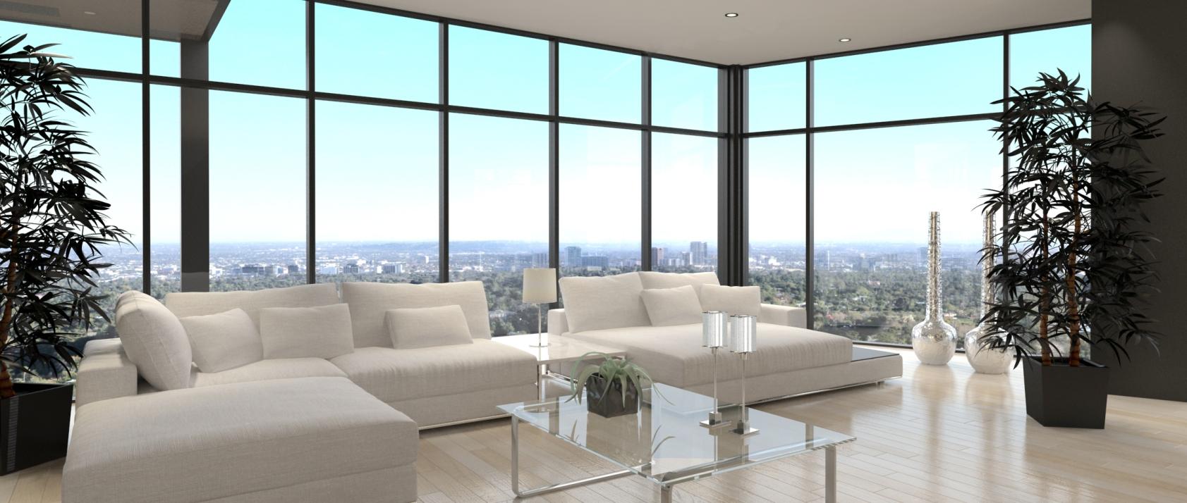 vetrate di grandi dimensioni