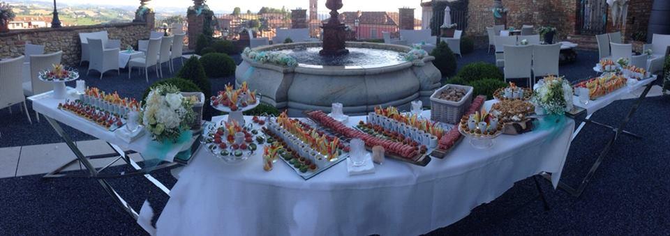 buffet MODA terrazza