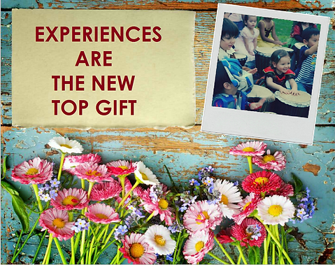 Experiences are the top new gift_Flowers