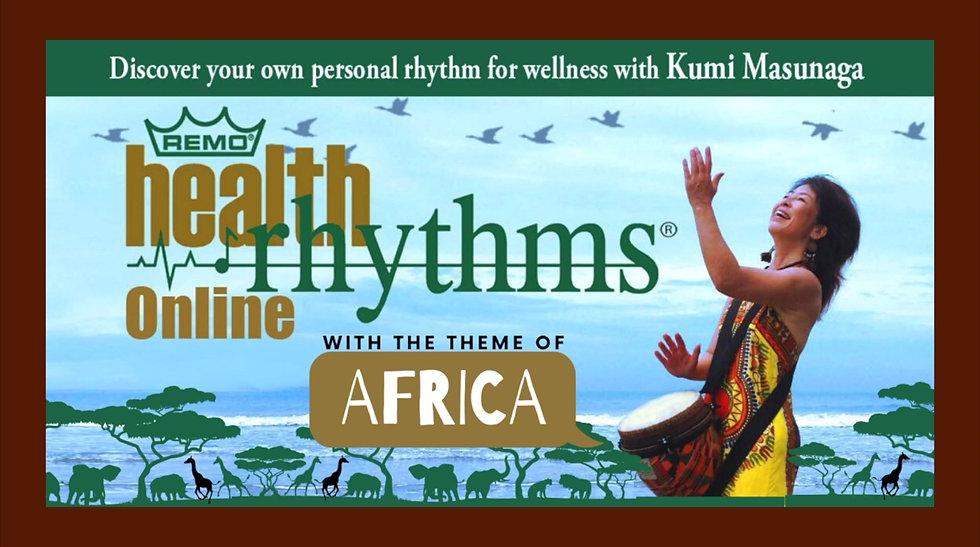 African-themed HealthRHYTHMS highlights