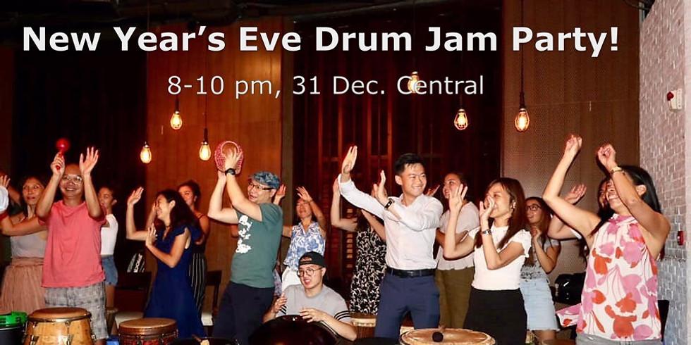 31 December - New Year's Eve Drum Jam PARTY!!  12月31日 除夕夜齊鼓樂派對!