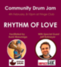 Drum Jam 4_Feb_2020 at Fringe Club Centr
