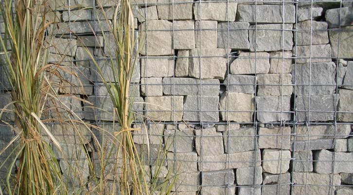 Drahtkörbe Sandstein Zeller, Greifensee