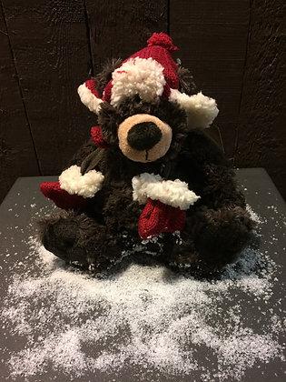 Kerstbeer H 22 cm