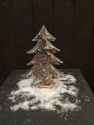 Kerstboom berk H 26 cm