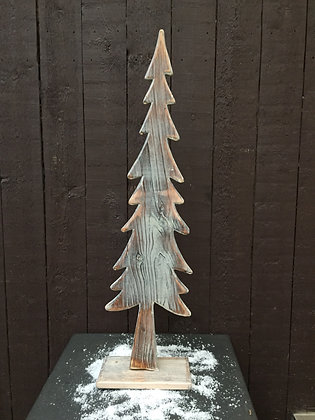 Houten kerstboom H 67 cm