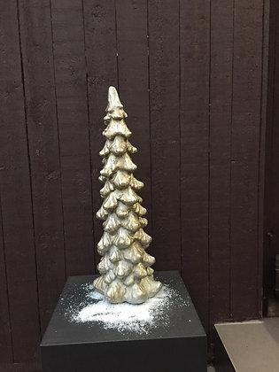 Stenen kerstboom H 65 cm