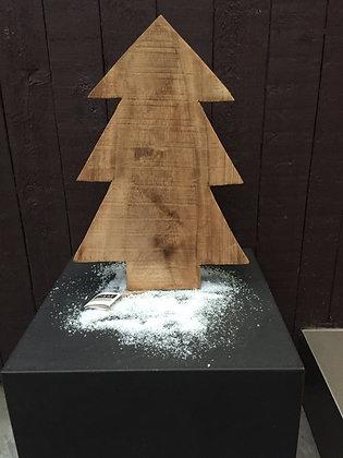Houten kerstboom H 43 cm