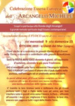 Flyer celebrazione MICHELE  9Ottob2019 p