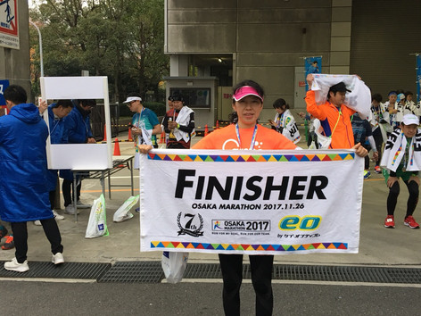 大阪マラソン2017