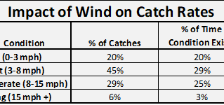 The Impact of Wind On Catch Rates