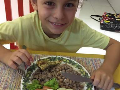 5 atitudes para que seu filho tenha hábitos alimentares saudáveis.