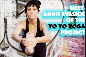 Meet Annie Evasick Owner Of Yo Yo Yoga Project