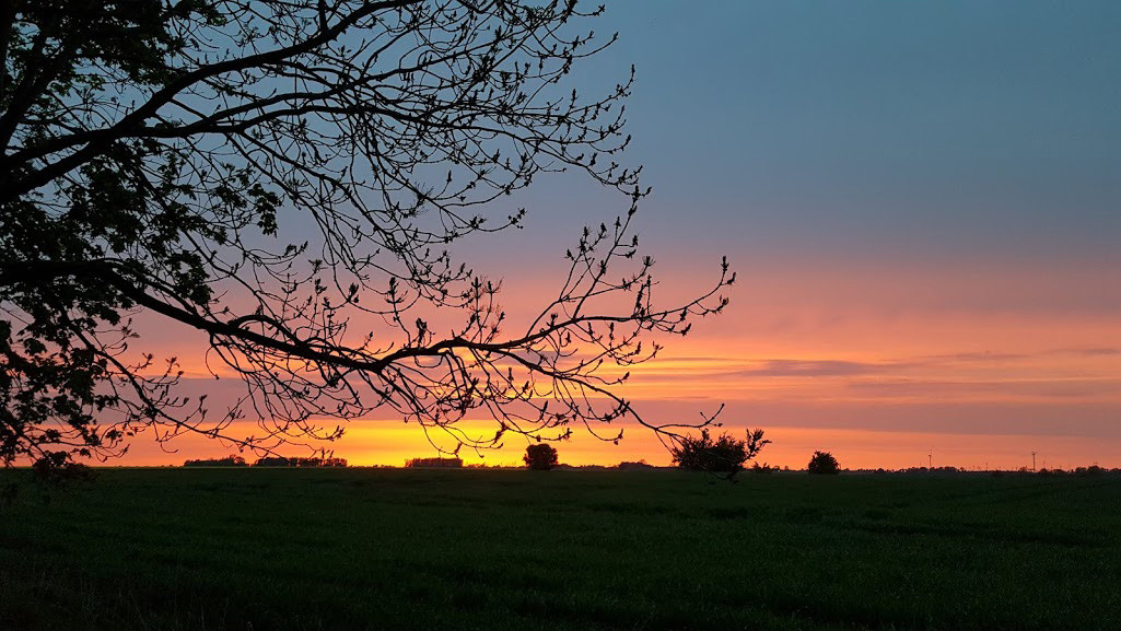 Spektakuläre Sonnenuntergänge