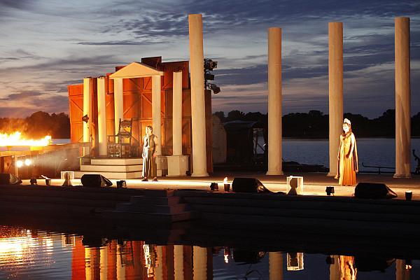 Das Seefestival Wustrau vor spektakulärer Kulisse