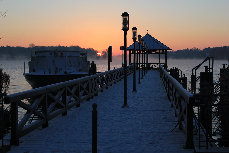 Winterstimmung am See in Neuruppin