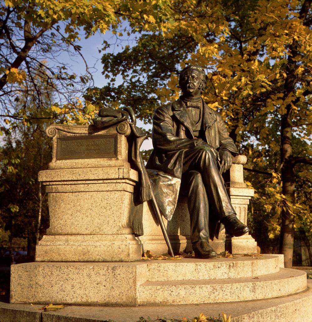 Das Fontane-Denkmal in Neuruppin