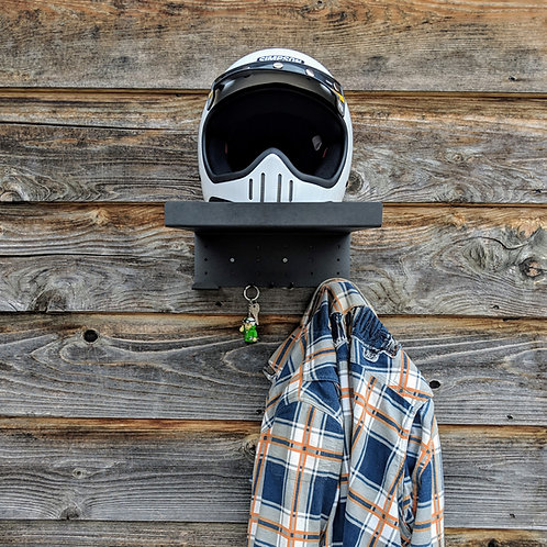 Ox Motorcycle Helmet and Gear Shelf