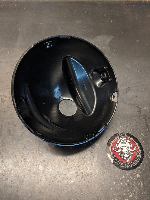 7in Head Light Bucket Black