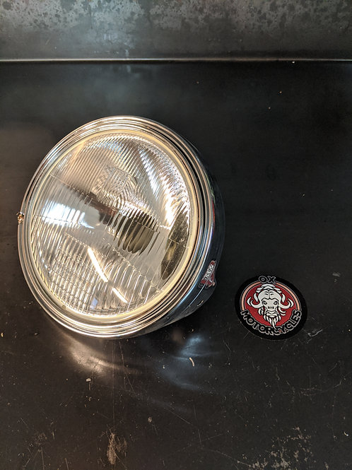 Honda Head Light Unit ( 1970-1978 ) Complete Unit Chrome