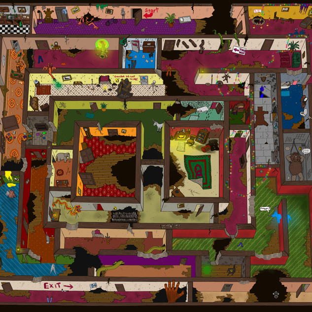Corridor Maze Puzzle