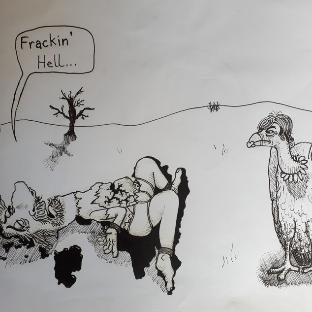 For frack's sake