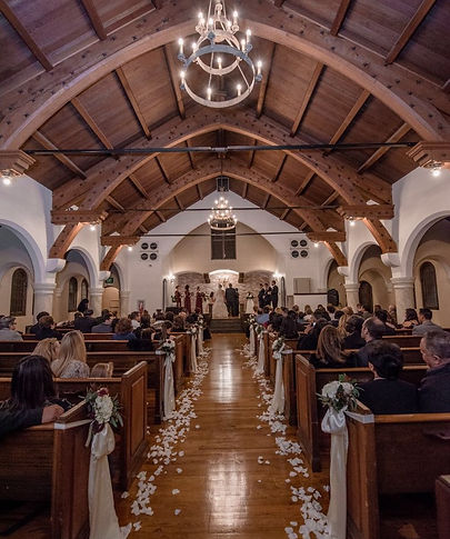 Thee Olde Chapel Wedding Ceremony in Riverside, CA