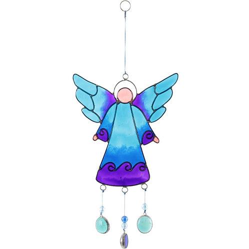 Blue Angel Suncatcher 27cm