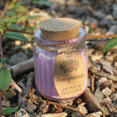 Pomegranate Fragrance Mini Soy Candle