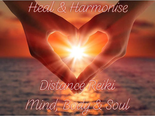 Distance Reiki with Guided Chakra Meditation