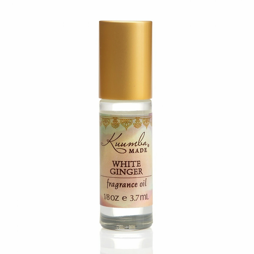 WHITE GINGER MINI FRAGRANCE OIL 3.7ML