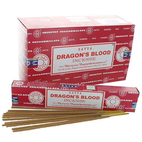 Satya Dragon's Blood Incense 15g