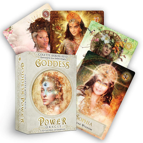 Goddess Power Oracle Cards by Collette Baron-Reid