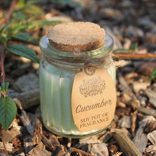 Cucumber Fragrance Mini Soy Candle