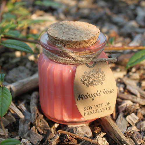 Midnight Rose Fragrance Mini Soy Candle