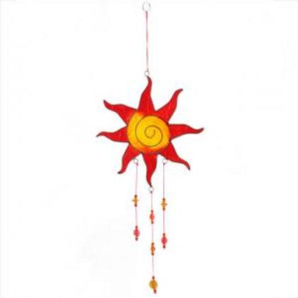 Red/Yellow  Sun Suncatcher