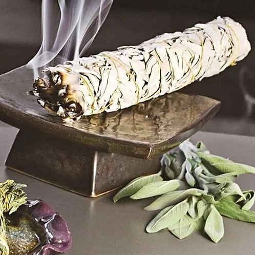 White Sage Smudge Stick 11cm