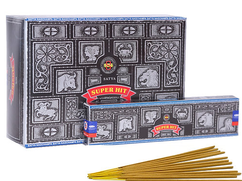 Satya Super Hit Incense 15g box