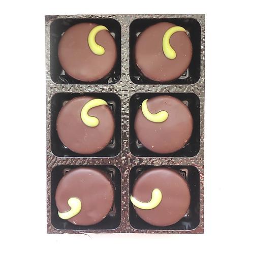 6 x Dark Mint Fondant Chocolates