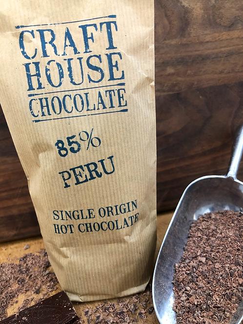 85% Peru Dark Ground Hot Chocolate