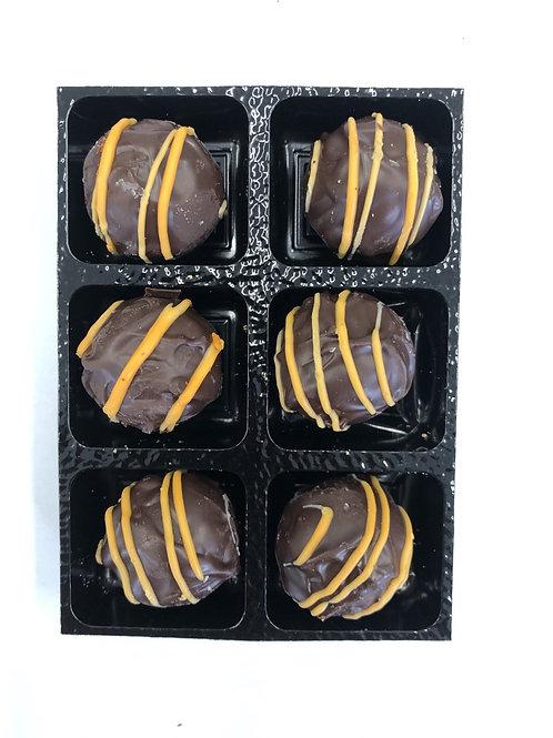 6 x Dark Chocolate Orange Truffles