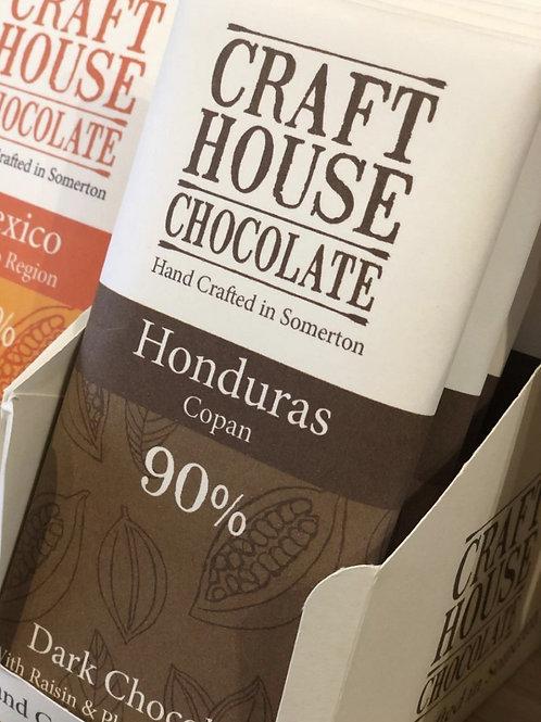 Honduras 90% Dark Single Origin Chocolate