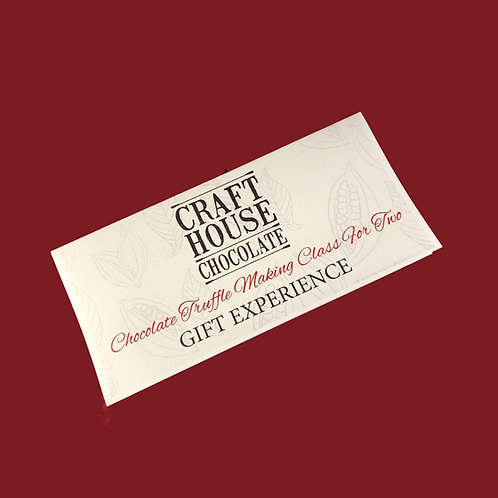 Gift Experience Vouchers