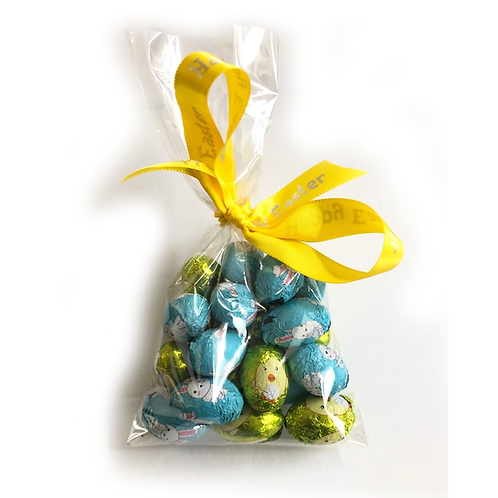 Milk Chocolate Foiled Bunny & Chicken Mini Eggs