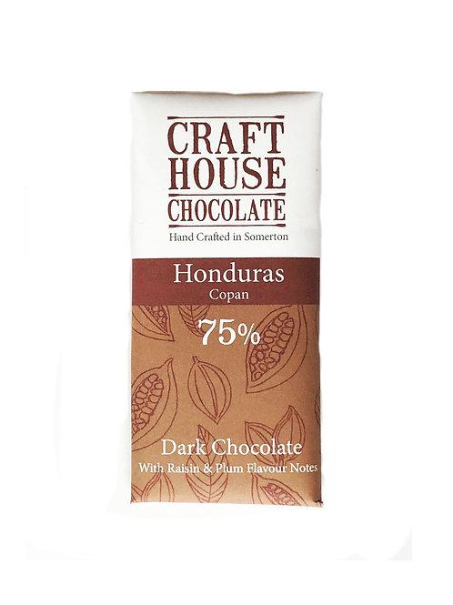 Honduras 75% Dark Single Origin Chocolate