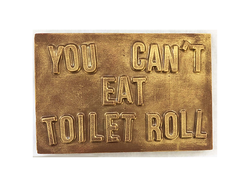 You Can't Eat Toilet Roll Chocolate Bar