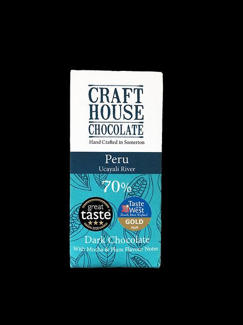 Peru Ucayali River 70 % Dark Chocolate